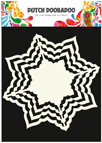 Dutch Doobadoo - Dutch Shape Art - Star A5
