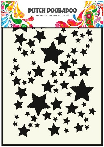 Dutch Doobadoo - Dutch Mask Art - Stars