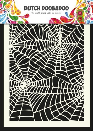 Dutch Doobadoo - Dutch Mask Art - Spiderweb