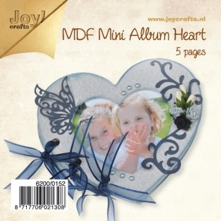 Joy!Crafts - MDF - Mini Album Hart