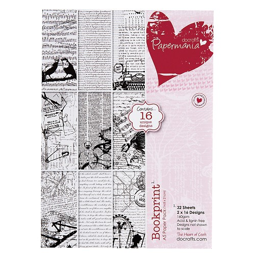 DoCrafts - Paper Pack - Bookprint