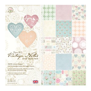 DoCrafts - Paper Pack Line - Vintage Notes