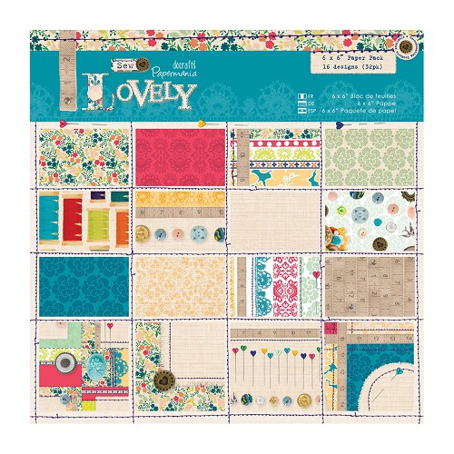 DoCrafts - Paper Pack - Sew Lovely