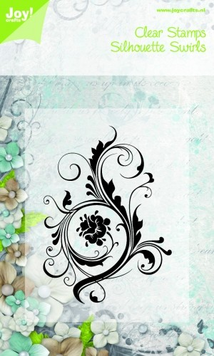 Joy!Crafts - Clearstamp - Swirl 2
