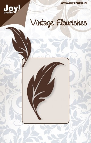 Joy!Crafts - Vintage Flourishes - Cutting - Blad 1
