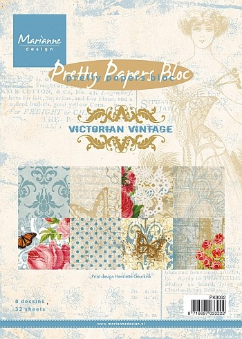 Marianne Design - Pretty Papers Bloc - Victorian Vintage