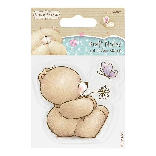 DoCrafts - Mini Clear Stamp - Kraft Notes - Thinking of You