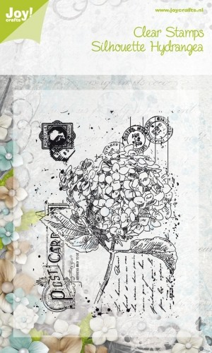Joy!Crafts - Clear Stamps - Silhouette Hydrangea