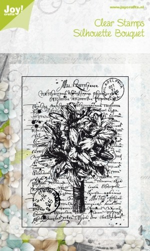 Joy!Crafts - Clear Stamps - Silhouette Bouquet