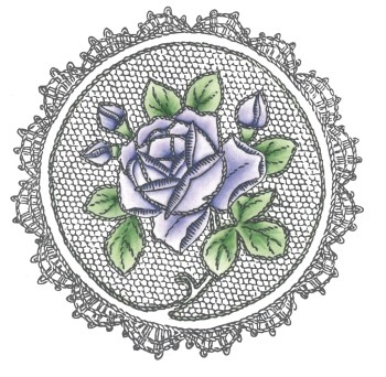 Marianne Design - Cling stamp - Roses
