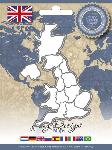 Amy Design - Die - Country Die - United Kingdom