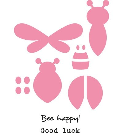Marianne Design - Die - Collectables - Bee And Lady Bird