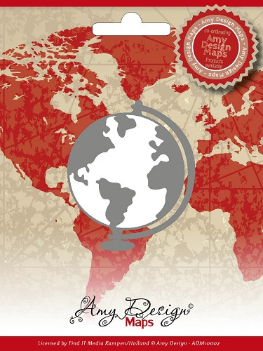 Amy Design - Die - Maps - Globe