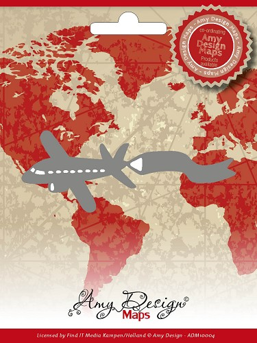 Amy Design - Die - Maps - Airplane