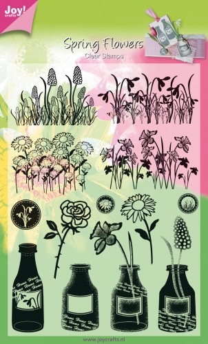 Joy!Crafts - Clear Stamps - Spring Flowers