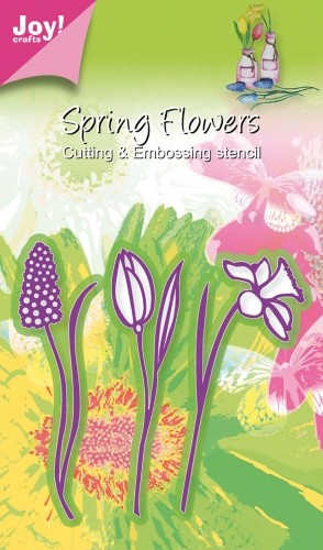 Joy!Crafts - Cutting & Embossing - Spring Flowers 3