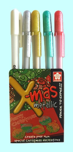 Gelpennen Gelly Roll X-Mas Metallic