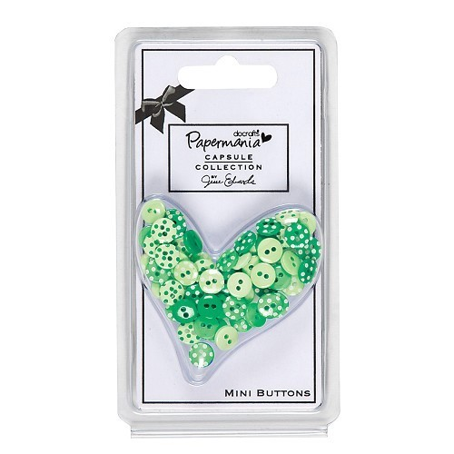 DoCrafts - Buttons Chelsea Green