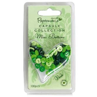 DoCrafts - Buttons Verde