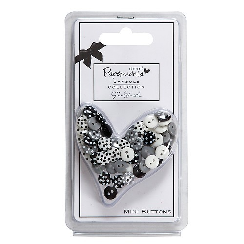 DoCrafts - Buttons Bexley Black