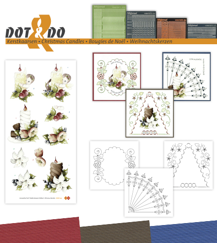 Dot & Do 35 - Kerstkaarsen