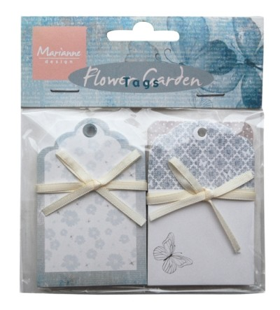 Marianne Design Card Decorations Flower Garden Tags