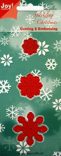 Joy!Crafts - Cutting & Embossing - 3 Sneeuwvlokken