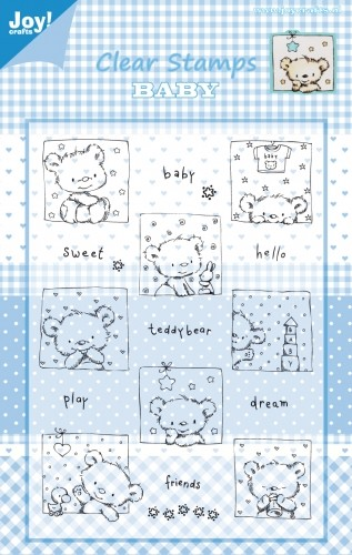 Joy!Crafts - Clear Stamps - Baby 1