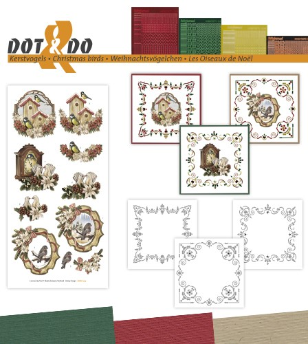 Dot & Do 39 - Kerstvogels