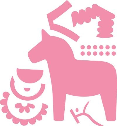 Marianne Design - Die - Collectables - Elines Dala Horse