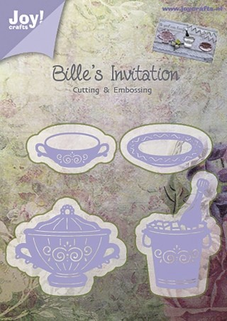 Joy!Crafts - Cutting & Embossing - Billes Invitation Servies