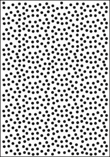 Crafts-Too - Embossing Folder - Polka Dots