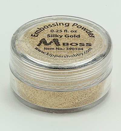 Kippershobby - Mboss Embossing poeder - Silky Gold