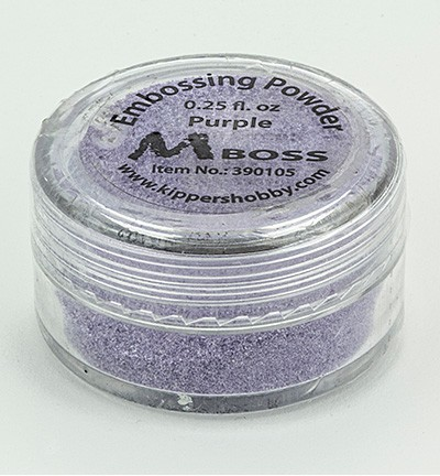 Kippershobby - Mboss Embossing poeder - Purple