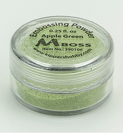 Kippershobby - Mboss Embossing poeder - Apple Green