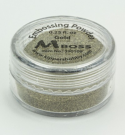 Kippershobby - Mboss Embossing poeder - Gold