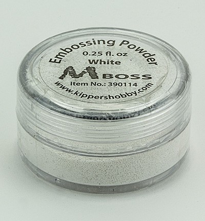 Kippershobby - Mboss Embossing poeder - White