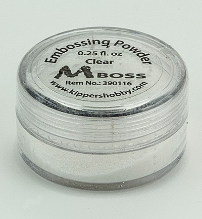 Kippershobby - Mboss Embossing poeder - Clear