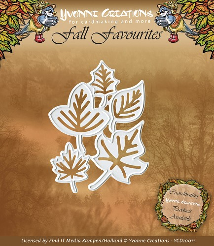Yvonne Creations - Fall Favourites - Leaves