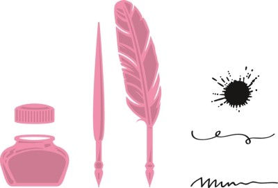 Marianne Design - Die - Collectables - Quill Pen And Ink
