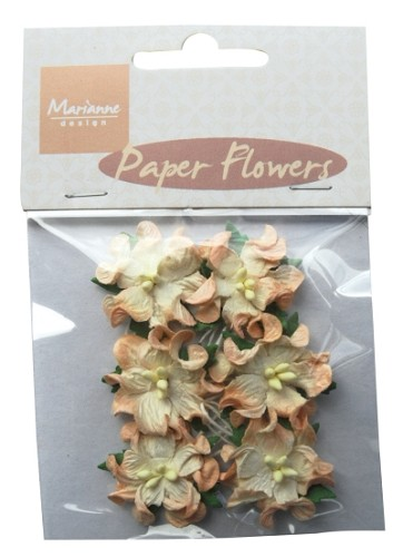 Marianne Design Paper Flowers Orange