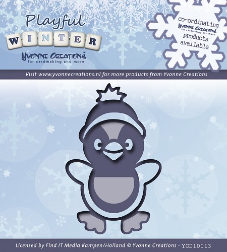 Yvonne Creations - Die - Playful Winter - Pinquin