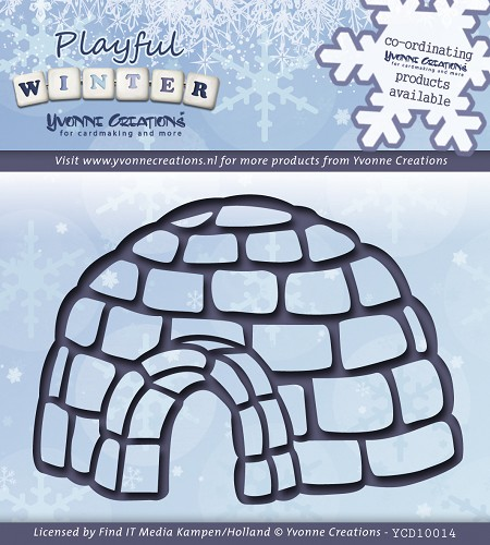 Yvonne Creations - Die - Playful Winter - Igloo
