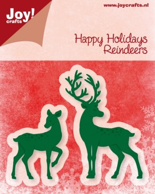 Joy!Crafts - Cutting & Embossing - Happy Holidays Reindeers