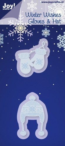 Joy!Crafts - Cutting & Embossing - Winter Wishes Gloves & Hat