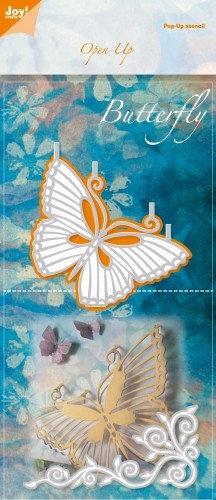 Joy!Crafts - Cutting & Embossing - Open Up stencil Butterfly