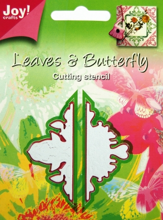 Joy!Crafts - Cutting - Stencil Leaves & Butterfly