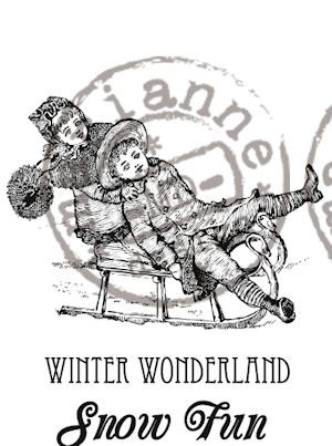 Marianne Design - Cling stamp - Artic Winter - Winter Wonderland