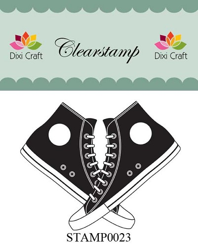 Dixi Craft - Clearstamp - Sportschoenen