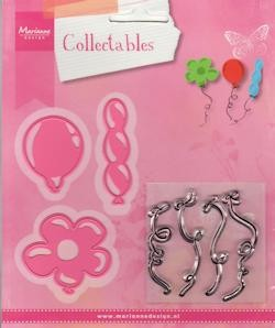 Marianne Design - Die - Collectables - set balloons stamp   stencil set